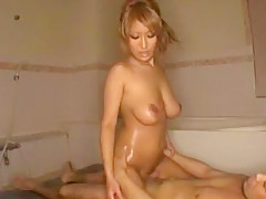 Incredible Japanese model in Best Threesomes, Cunnilingus JAV movie