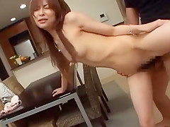 Amazing Japanese girl in Incredible Kitchen JAV movie