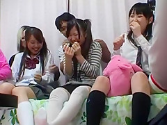Hottest Japanese chick Machiko Ono in Exotic Hidden Cams, DP/Futa-ana JAV clip