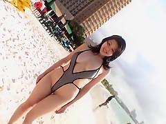 Amazing Japanese whore Shinobu Ebihara in Best Outdoor JAV movie
