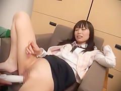 Incredible Japanese whore Minami Hirahara in Hottest Office JAV video