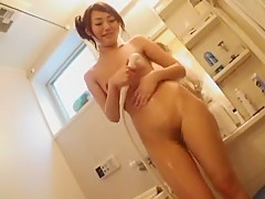 Exotic Japanese whore in Crazy Small Tits JAV clip