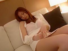 Fabulous Japanese whore Natsumi Shiraishi in Hottest JAV scene
