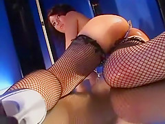 Crazy Japanese whore Carla Anzai in Amazing Fingering, Stockings/Pansuto JAV clip