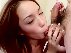 Incredible Japanese whore in Exotic JAV uncensored Cumshots movie