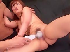 Horny Japanese chick Nao Ayukawa in Fabulous Fingering, Handjobs JAV scene