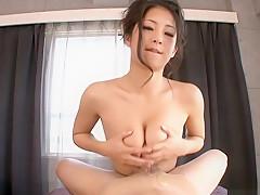 Horny Japanese model Satomi Suzuki in Best JAV uncensored POV scene