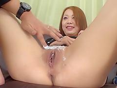 Crazy Japanese girl Asami Hoshikawa in Amazing JAV uncensored MILFs movie