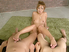 Amazing Japanese chick Hina Maeda in Hottest JAV uncensored Cumshots clip